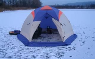 Палатка для зимней рыбалки Lotos 3 — обзор и отзывы