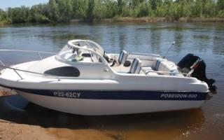 Лодки Посейдон — обзор и отзывы