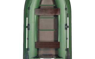 Лодка ПВХ Ривьера 3200СК — обзор и отзывы
