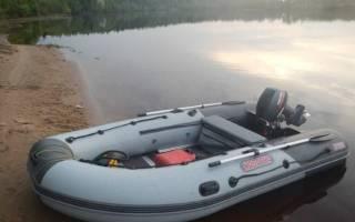 Лодка ПВХ Касатка-365 — обзор и отзывы