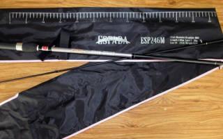 Спиннинг Aiko Espada ESP246M (246 7-36) — обзор и отзывы