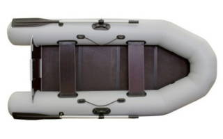 Лодка ПВХ Фрегат М 280 Е — обзор и отзывы