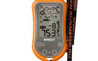 Переносная метеостанция RST 02559 — обзор и отзывы