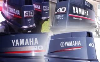Мотор Yamaha 40 XWS — обзор и отзывы