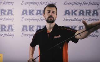 Спиннинговые удилища Akara — обзор и отзывы