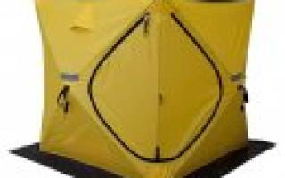 Палатка зимняя куб 1,5х1,5м. Premier — обзор и отзывы