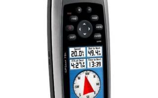 Навигатор Garmin GPSMAP 78 — обзор и отзывы