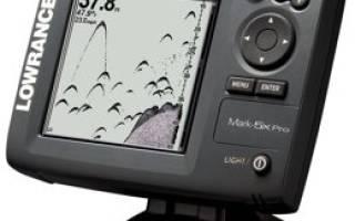 Эхолот Lowrance Mark-5x Pro — обзор и отзывы