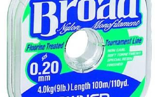 Леска Owner Broad 0.10 — обзор и отзывы