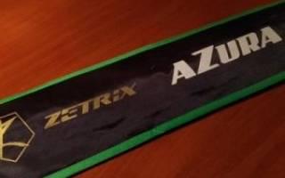 Тестирование спиннинга ZETRIX AZURA 762L
