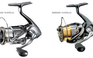 Безынерционная катушка Shimano 18 STELLA 3000MHG — обзор и отзывы