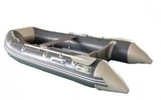 Лодка ПВХ Aquasparks SD-320 AL — обзор и отзывы