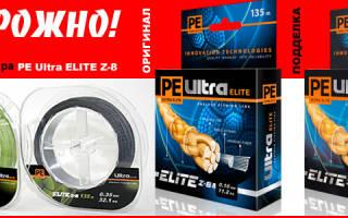 Шнур Aqua PE Ultra Elite M-8 0.12 — обзор и отзывы