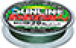 Шнур Sunline Momentum 4×4 #0.6 — обзор и отзывы