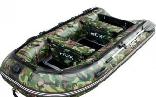 Лодка ПВХ HDX Carbon 330 — обзор и отзывы